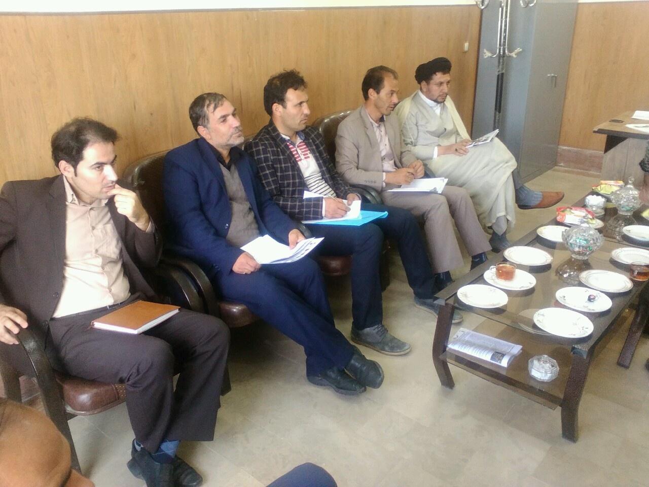 جلسه انجمن بخش افشار